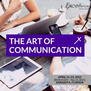 Art of Communication April 21-23, 2022 Photo