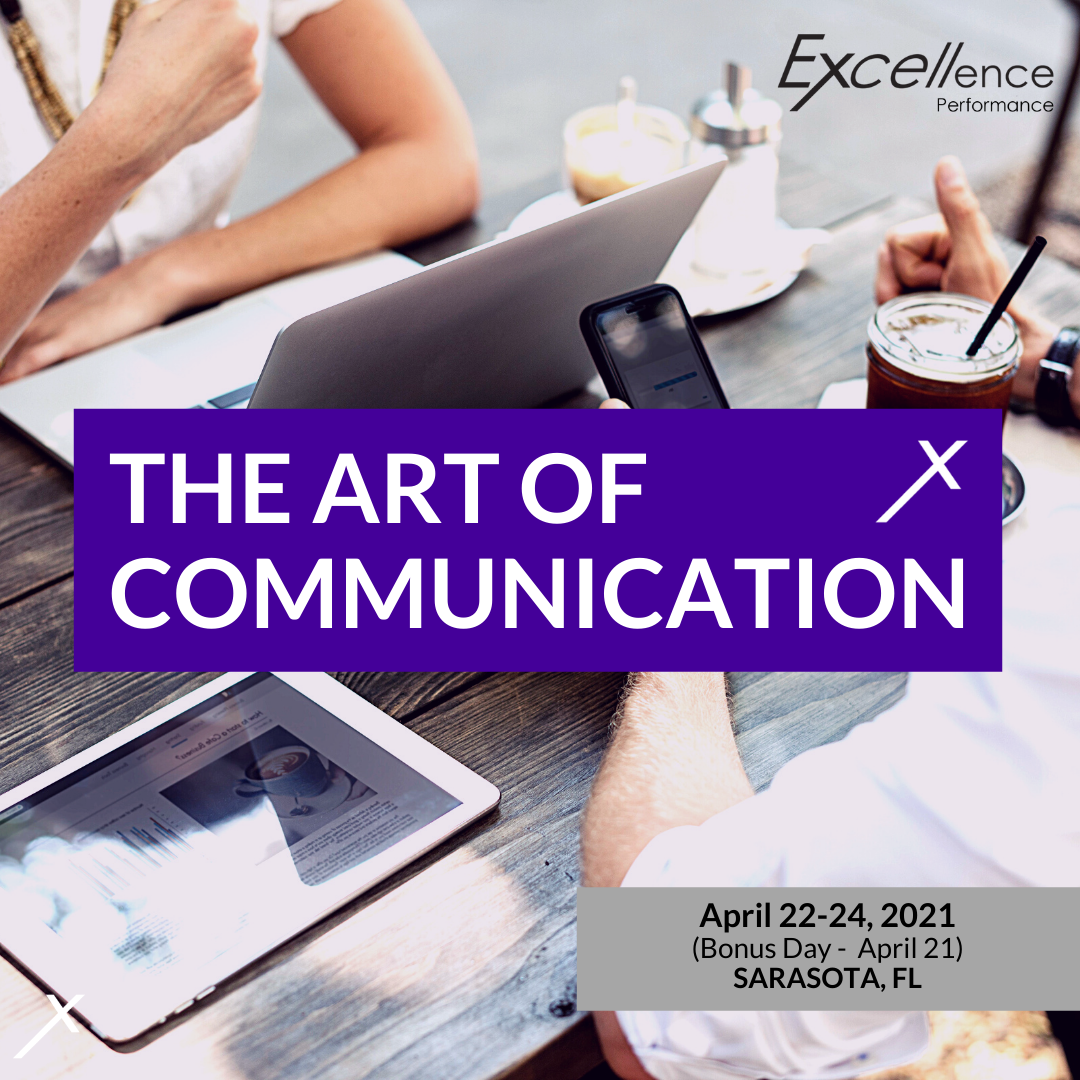 Art of Communication April 21-24, 2021