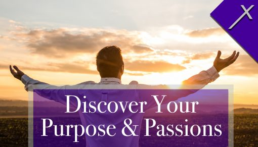 Front of Discover Your Purpose and Passions Business Card