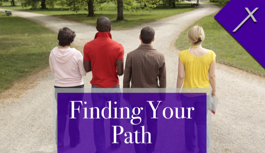 Front of Finding Your Path Business Card