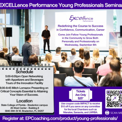 Young Professionals Event on Sept 8, 2021
