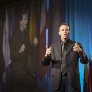 Photo of Tony Speaking